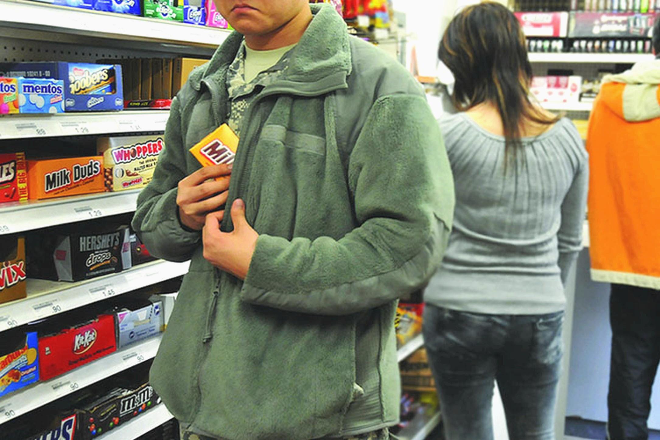 Кража продуктов в магазине ответственность